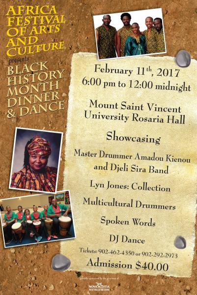 Black History Month Dinner Amp Dance Halifax African