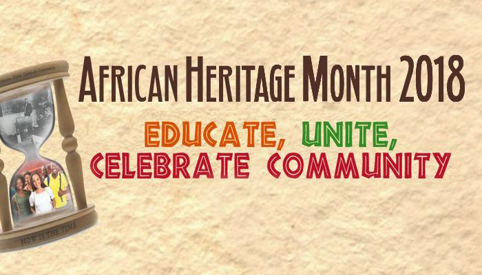 African Heritage Month 2018